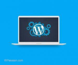 wordpress theme installation through host
