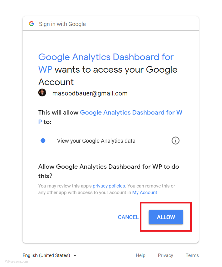 google-analytics-dashboard-for-wp-allow