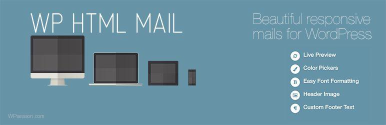 WP HTML Mail – Email Designer banner