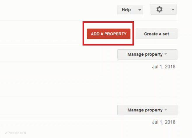 Google Webmasters Tools Main Page