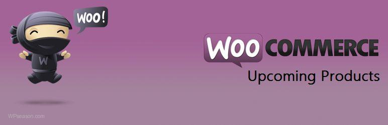 WooCommerce upcoming Products banner