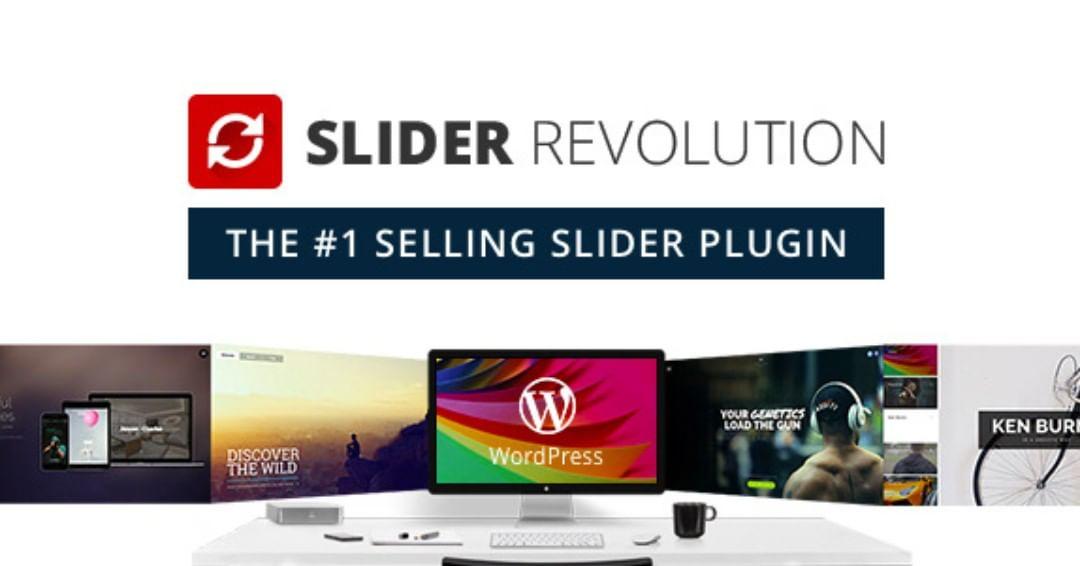 Slider Revolution banner