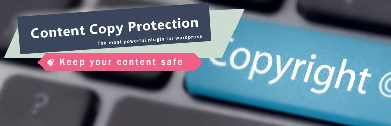 WP Content Copy Protection No Right Click banner