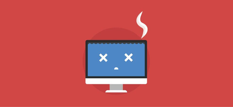 انواع خطا های سایت