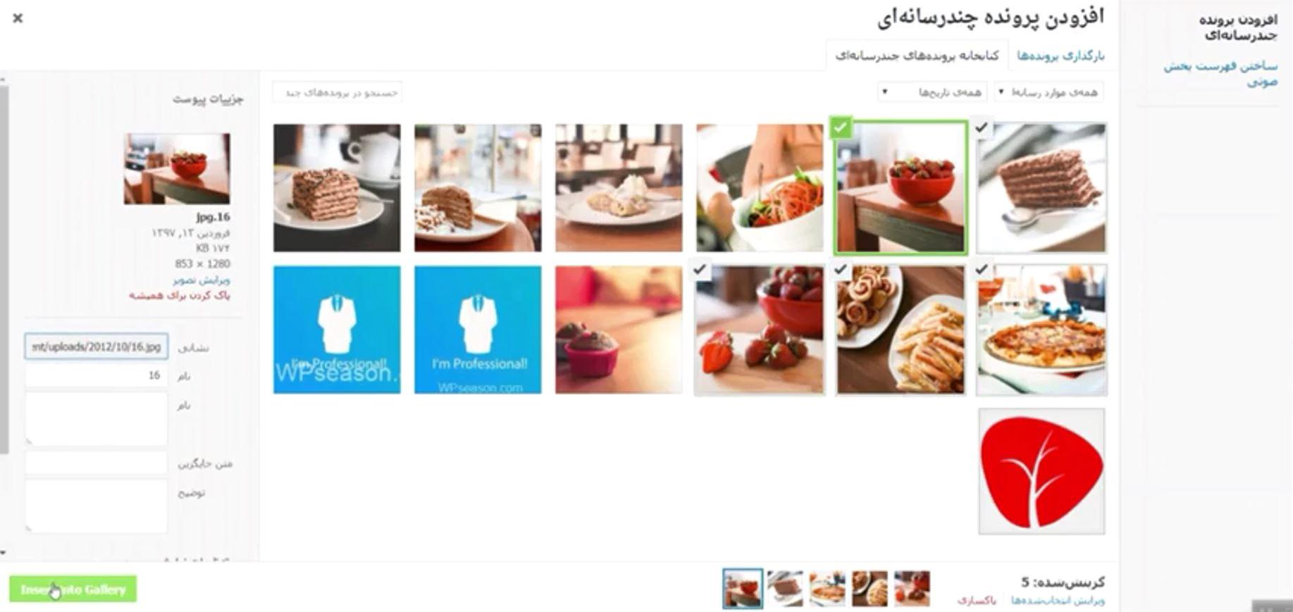Envira Photo Gallery select pics
