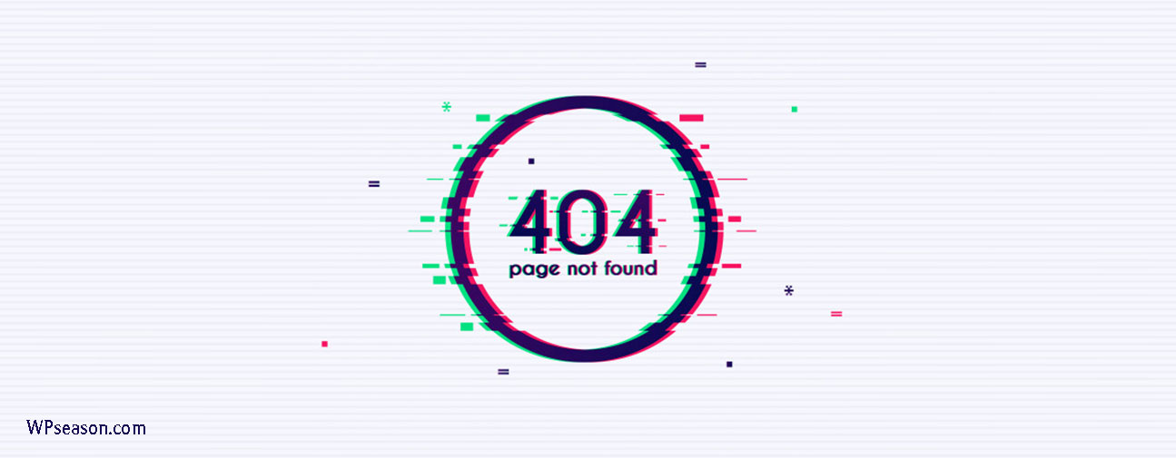 خطای 404 در سئو تکنیکال